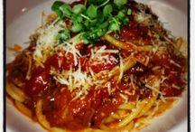 Pasta's / Pane E Vino specialty pasta dishes!