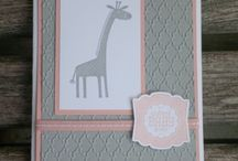 Cards: Baby / Cards for new babies from any stamp company