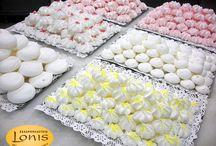 Μπεζέδες / Μπεζέδες σε διάφορες γεύσεις - Ζαχαροπλαστείο Lonis - www.lonis.gr