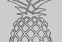 draw pineapple
