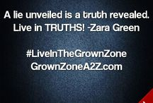 The Grown Zone / Distinguishing ADULT Rights from GROWN Decisions; providing life tools to LIVE in the Grown Zone.