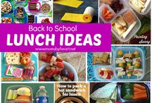 Lunch ideas / by Lindsay Gray