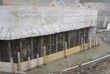 Cantiere impianto idroelettrico nel Comune di Mombaldone (AT) / Foto di cantiere