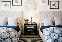 Bedrooms / by Rebecca Loewke Interiors