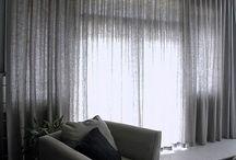 Window furnishings / S-fold curtains