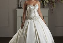 Wedding dresses, veils and accessories