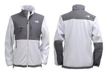 The North Face Denali Jacket Men White/Grey