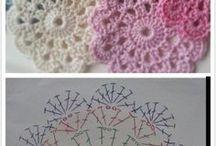 かぎ針編みのコースター