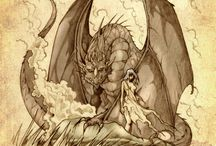 Dragons, Elves & Faries / by Carol