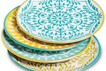 Particolari d'arredamento / Ceramiche Piatti Oggetti