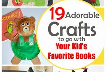 Book Themed Crafts & Activities