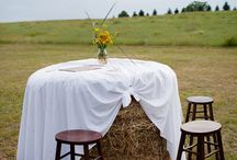 inspiration mariage champêtre/ bohème