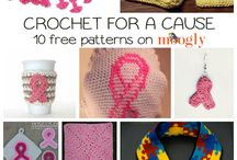 CROCHETING FOR A CAUSE / Crochet for charities and such
