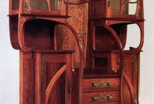 Art Nouveau: Lines of Nature / Идеи в стиле Модерн