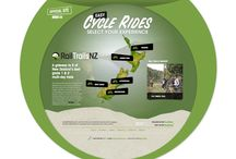 ONLINE - railtrailsnz.com / A gateway to 5 of New Zealand's best grade 1 & 2 multi-day trails