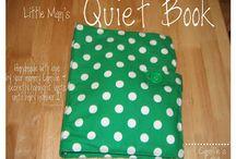 DIY Quiet Book Ideas / by Haley