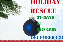 Holiday Rescue / Don't let added stress and extra pounds creep up on you this holiday season! Stress Rescue is a 31-Day eCourse of Healthy Menu and Movement Plans, Guided Meditations and Stress Relief Tips, Herbal Recipes to Boost Your Immunity + Make You Feel Good All Over.