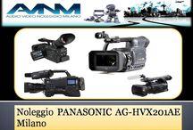 Noleggio PANASONIC AG-HVX201AE milano