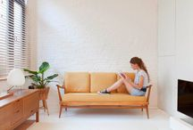 Small Space Living / A tiny space can still be multi-functional and stylish.