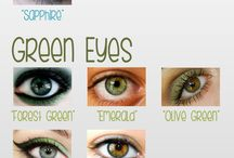 Eye color charts