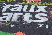 Pewsey Bike Race Pavement Painting / Pewsey Bike Race Pavement Painting