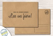Einladungskarte jürgen