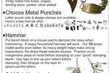 Stamped Jewelry / by Karol Keo