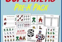 Learning Pre-Reading Skills / Exercises to help your child get ready for learning to write.  #pre-writing