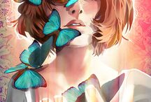 Life is strange / Me:  is it... love?  LIS *as blue butterfly*:  hella.