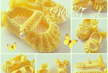 vauvan tossut / Baby slippers