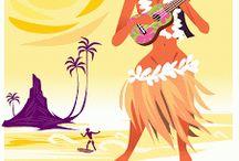 Les Affiches de la Polynesie