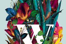 botanical print idea