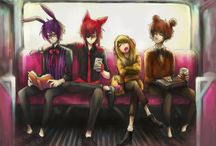 Five nights at Freddy's Humans ^^ / I love fnaf duuuuuh *-*