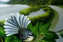 Fantail Illustration