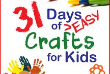 kiddies crafts