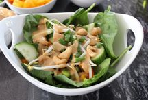 {blog} Salads / from www.TheseThingsILove.com
