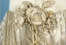 Silk, lace, embroidery