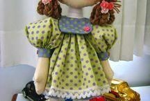 bonecas grandes com moldes