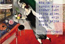 chagall -kunstlessen beeldend