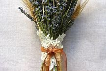 - dried flowers
