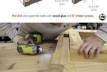 Holz arbeiten