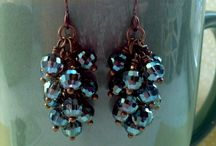 Beads - earrings / ' / by Gail Smith
