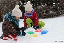 children - winter activities