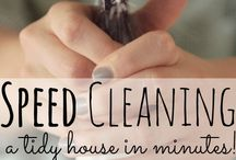 DIY House Cleaning Tips / Cleaning can be a love / hate relationship.  We try to make it more about love.
