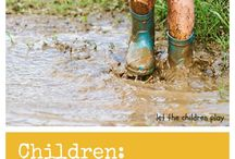 Play Outside / Create childhood memories - that will live with your child forever, not to mention the benefits of playing outside to your child's health, well being, learning and develop outweigh the nuisance of muddy shoes, dirty knees and wet socks. Don't forget to also check-out my web page KayTrotter.com. CONTENT IS RESOURCES ONLY. / by Dr. Kay Trotter - Kaleidoscope Counseling