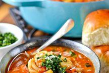 Soups, stews, etc. / by Lorie Hunt