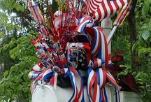 Red, White and Blue / by Debra