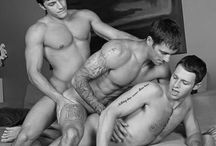 Ménage à Trois / by Beautiful&Gorgeous Naked Men