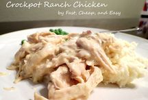 Crockpot Meals / by Cynthia Fiester