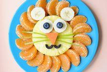 décoration fruits